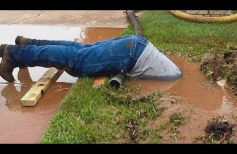 plumber goes above and beyond duty